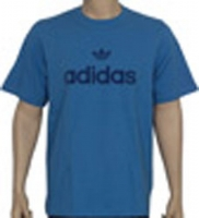Adidas Linear Flock Tee Shirt