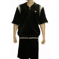 Fila Velour Short Set